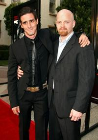 James Ransone and Josh Ray Person at the premiere of