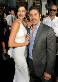 Rachel Nichols and Ray Park at the screening of