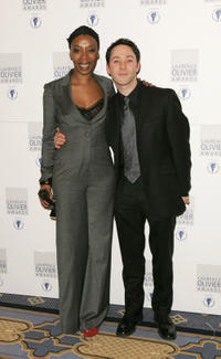 Noma Dumezweni and Reece Shearsmith at the Laurence Olivier Awards 2006 in London.