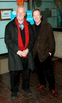 Bernard Hill and Bill Paterson at the screening of Chicken Little the Opening Gala of The London Childrens Film Festival.