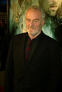 Bernard Hill at the premiere of