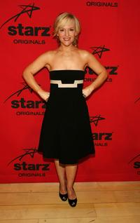 Rachael Harris at the Starz premiere party of