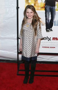 Actress Abigail Breslin at the N.Y. premiere of