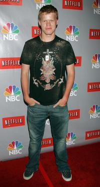 Jesse Plemons at the NBC All-Star Event.