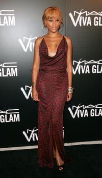 Eve at the M.A.C. Viva Glam VI dinner to benefit Aids research.