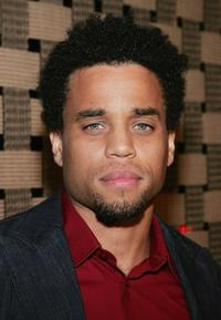 Michael Ealy at the premiere of