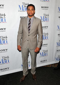 Michael Ealy at the New York premiere of