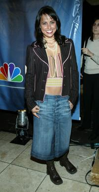 Constance Zimmer at the 2004 NBC Winter Press Tour All-Star party.