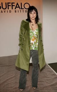 Constance Zimmer at the Buffalo Fall 2006 show during the Mercedes Benz Fashion week.