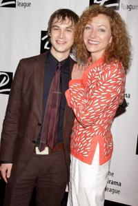 Tobias Segal and Julie White at the 74th Annual Drama League Awards Ceremony.