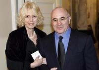 Bob Hoskins and his wife Linda Banwell at the International Berlin Film Festival.