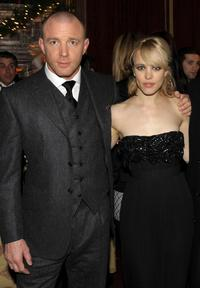 Guy Ritchie and Rachel McAdams at the after party of the New York premiere of