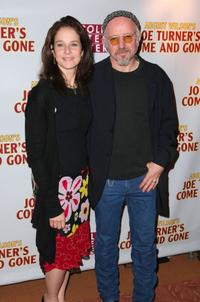 Debra Winger and Arliss Howard at the opening night party of
