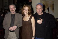 Arliss Howard, Larry Brown and Debra Winger at a tribute to the IFC Films release of