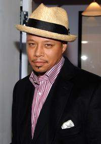 Terrence Howard at the Cinema Society and Frederic Fekkai for