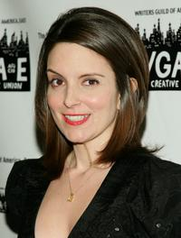 Tina Fey at the 59th Annual Writers Guild of America Awards.