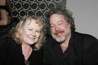 Tom Hulce and Shirley Knight at the opening night after party for