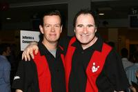 Dylan Baker and Richard Kind at the Second Stage Theatres 19th Annual All-Star Bowling at Leisure Time Bowling Lanes.