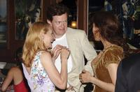 Dylan Baker, Patricia Clarkson and Jessica Hecht at the Lincoln Center Theater opening night celebration for
