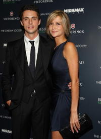 Matthew Goode and Sophie Dymoke at the screening of