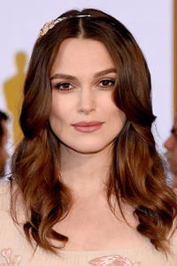 Keira Knightley at the 87th Annual Academy Awards.