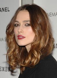 Keira Knightley at the New York premiere of