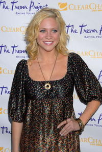 Brittany Snow at The Trevor Project's 9th annual Cracked XMas