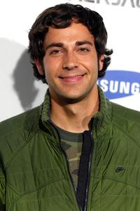 Zachary Levi at the launch of the Blackjack II by Samsung.