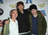 C.S. Lee, Jonathan Sadowski and Zachary Levi at the EA's Official Launch Of