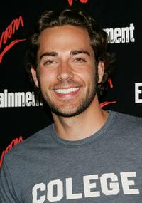 Zachary Levi at the Entertainment Weekly and Vavoom's Network Upfront party.