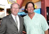 William Hurt and Kevin Sorbo at the premiere of