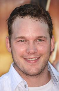 Chris Pratt at the premiere of