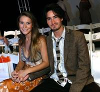 Charlotte Salt and Rik Young at the Candice Held Spring 2008 fashion show during the Mercedes-Benz Fashion Week.