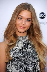Sasha Pieterse at the Disney-ABC Television Group Summer Press Tour party.