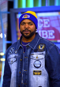 Ice Cube during TRL at the MTV Studios in New York City.