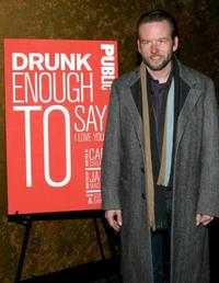 Dallas Roberts at the opening night party of