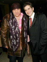 Michael Imperioli and Steven Van Zandt at the HBO premiere of