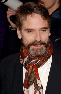 Jeremy Irons at the New York premiere of