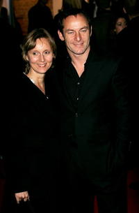 Jason Isaacs and his wife, actress Emma Hewitt at the tenth annual British Independent Film Awards.