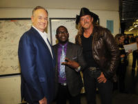 Bill O'Reilly, musicians Randy Jackson and Trace Adkins at the 2009 CMT music awards in Tennessee.