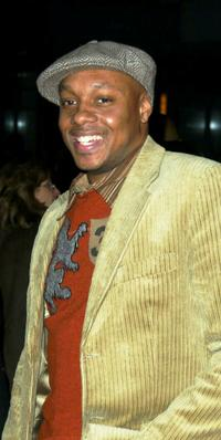 Dorian Missick at the benefit premiere of