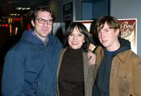 Paul Schneider, producer Jean Doumanian and director David Gordon Green at the New York premiere of