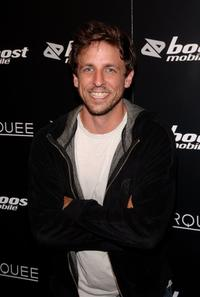 Seth Meyers at the Virgin Records and Boost Mobile VMA Post Party.
