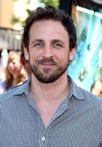 Seth Meyers at the premiere of