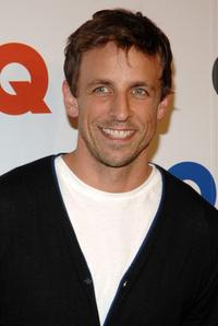 Seth Meyers at the GQ Magazine's 50th Year Celebration party.