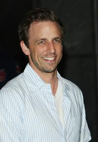 Seth Meyers at the fan screening of