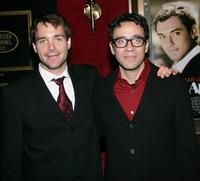 Will Forte and Fred Armisen at the New York premiere of