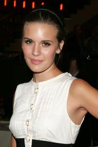 Maggie Grace at the after party premiere of