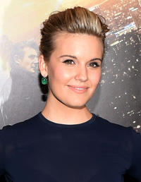 Maggie Grace at the New York screening of