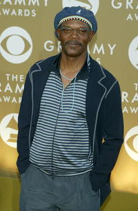 Samuel L. Jackson at the 46th Annual Grammy Awards.